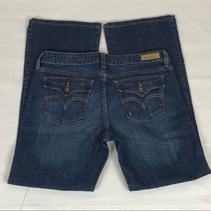 Levi's 545 Distressed Low Boot Cut Jeans Size 10M